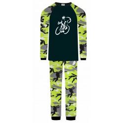 Cycling Pyjamas - Green Camo