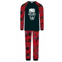 Zombie Pyjamas - Red Camo