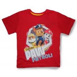 Paw Patrol T Shirt - Call Red