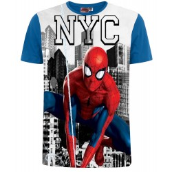 Spiderman T Shirt - NYC Blue