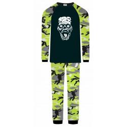 Zombie Pyjamas - Green Camo