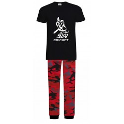 Mens Cricket Pyjamas - Red...