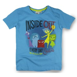 Inside Out T Shirt - Blue