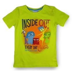 Inside Out T Shirt - Green