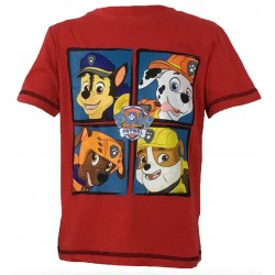 Paw Patrol T Shirt - Group Red