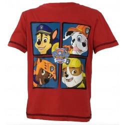 Paw Patrol T Shirt - Group Red