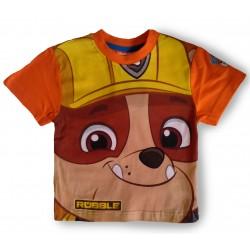 Paw Patrol T Shirt - Rubble