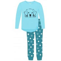 Puppy Dog Pyjamas - Lab Blue