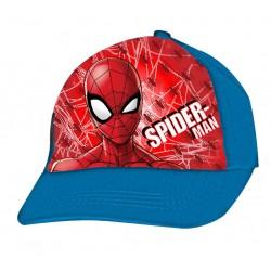 Spiderman Cap - Blue