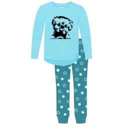 Puppy Dog Pyjamas - Terr Blue
