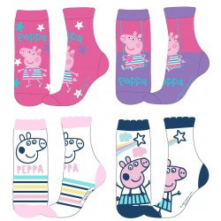 Peppa Pig Socks - Pack of Four