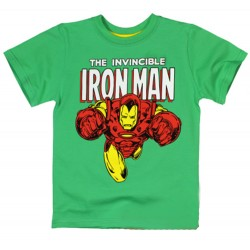 Iron Man T Shirt - Green