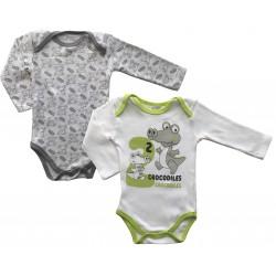 Long Sleeved Babygrows -...