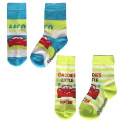 Baby Cars Socks - Green -...