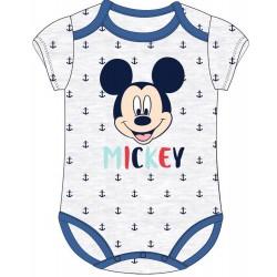 Mickey Mouse Babygrow - Grey