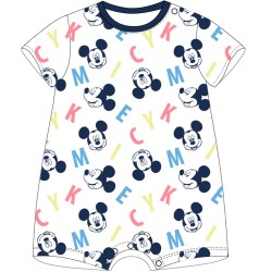 Mickey Mouse Romper - White