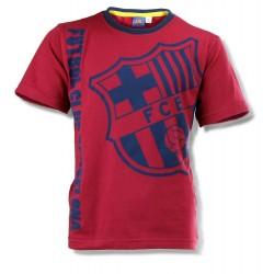 Barcelona T Shirt - Claret