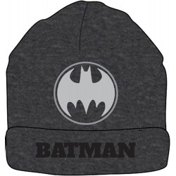 Batman Beanie Hat - Dark Grey