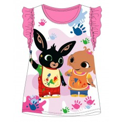 Bing T Shirt - Pink Frill