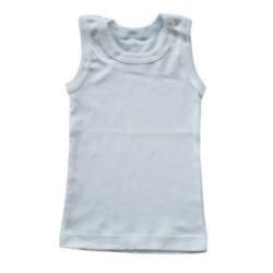 Pack of 3 White Vests