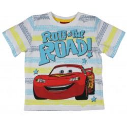 Cars T Shirt - Yellow Stripe