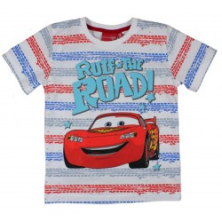 Cars T Shirt - Red Stripe
