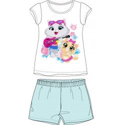 44 Cats Short Pyjamas - Blue
