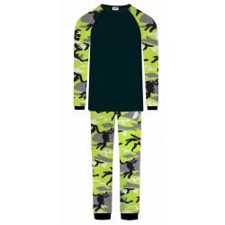 Boys Pyjamas - Green Camo