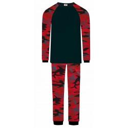 Boys Pyjamas - Red Camo
