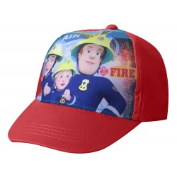 Fireman Sam Cap - Red