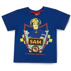 Fireman Sam T Shirt - Blue