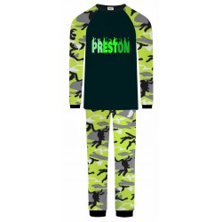 Preston Pyjamas - Green Camo