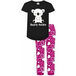 Bearly Awake Pyjamas - White