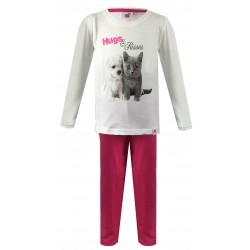 Hugs & Kisses Pyjamas - Pink