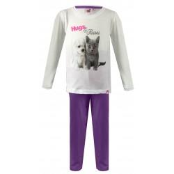 Hugs & Kisses Pyjamas - Purple