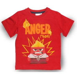 Inside Out T Shirt - Red