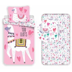 Llama Full Bedding Set