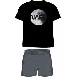 NASA Short Pyjamas - Black