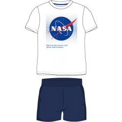 NASA Short Pyjamas - White