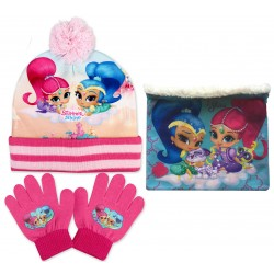 Shimmer & Shine Hat, Snood...