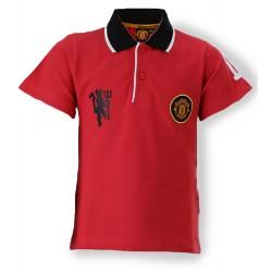 Man Utd Polo Shirt - Red