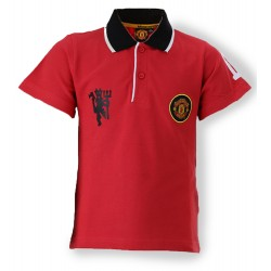 Man Utd Polo Shirt - Red