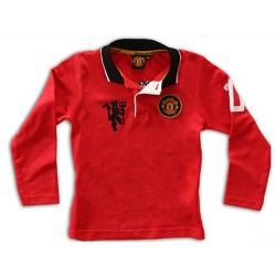 Man Utd Long Sleeved Polo...