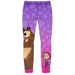Masha Winter Leggings - Purple