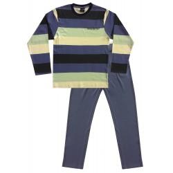 Mens Stripe Pyjamas