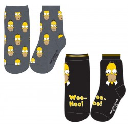 Simpsons Socks - Pack of Two