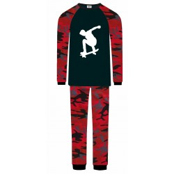 Skateboarding Pyjamas - Red...