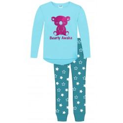 Bearly Awake Pyjamas - Blue