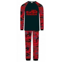Racing Car Pyjamas - Red Camo