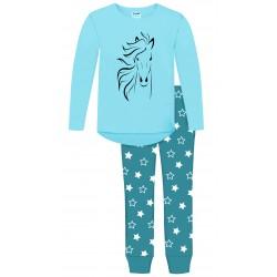 Palomino Horse Pyjamas - Blue
